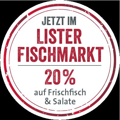 Jetzt im Lister Fischmarkt: Canapés, Seafood-Platten, Frisch- und Räucherfisch angeln