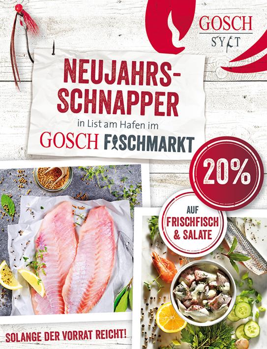 Lister Fischmarkt Neujahrs Angebote