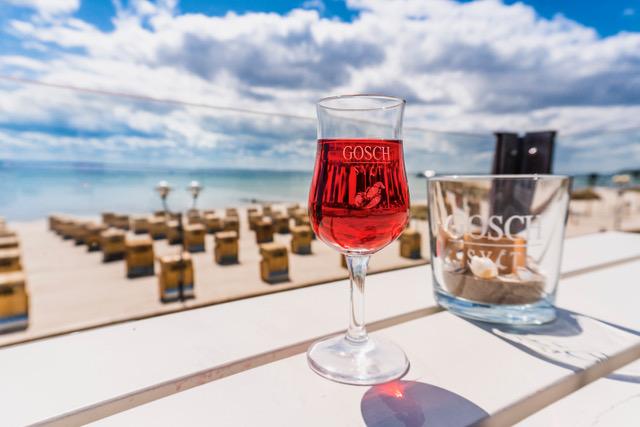 Wein bei GOSCH auf Sylt